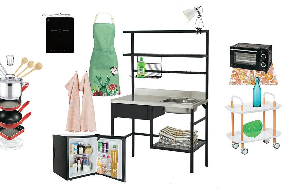 Bello & possibile: la mini-cucina accessoriata