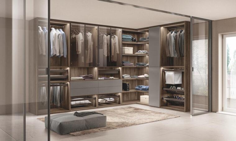 Camera da letto: le soluzioni per la cabina armadio