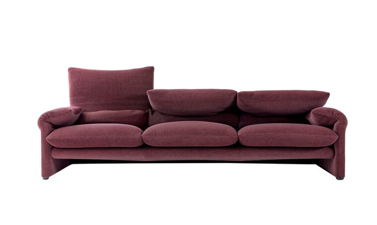 Icone del design: il divano Maralunga
