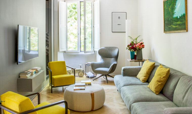 Arredare il living in stile minimal