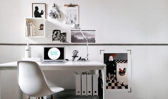Come decorare la zona studio con un mini budget