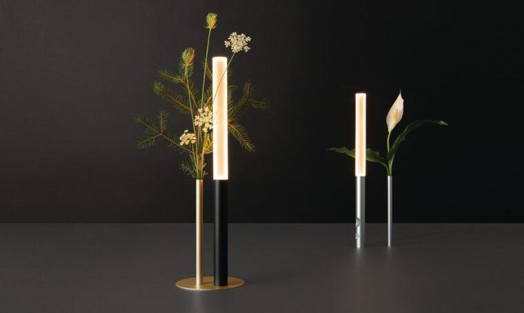 Il vaso-lampada che sta in Ognidove