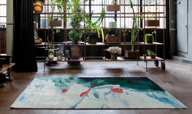 Storie d'acqua: da mostra fotografica a tappeto