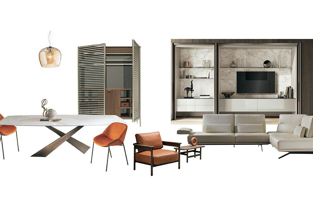 Arredare il soggiorno in stile neo-minimal