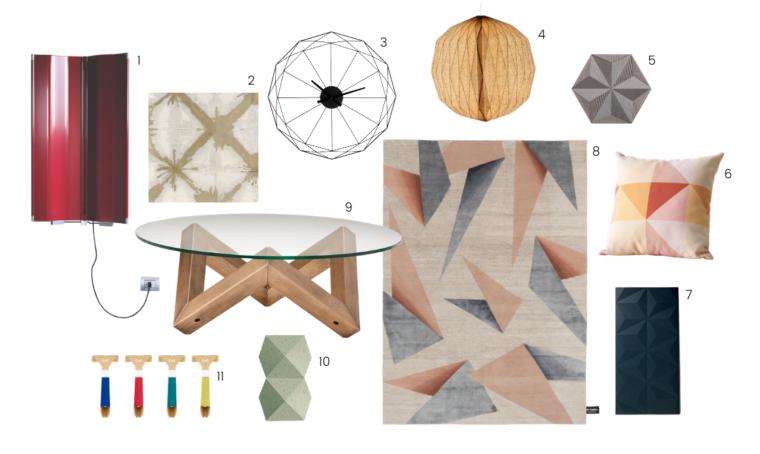 Tendenze: il design si ispira agli origami