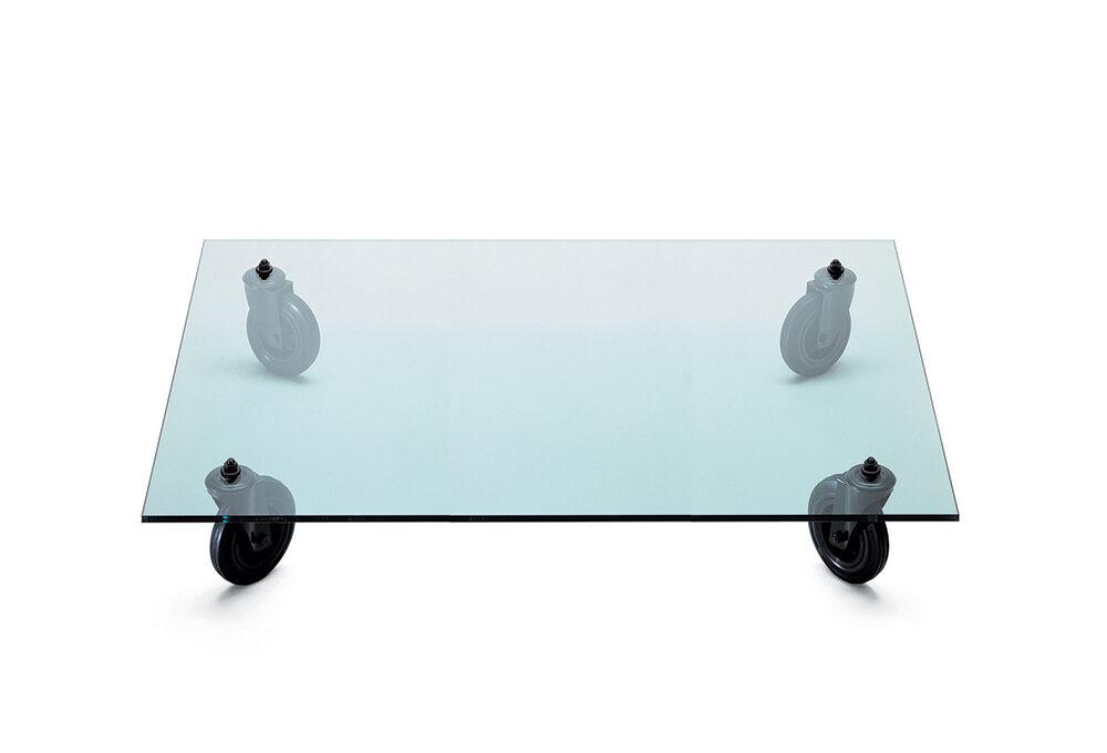 Icone del design: il Tavolo con ruote di Gae Aulenti