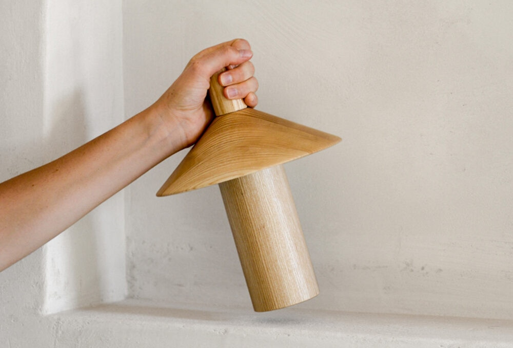 Punto luce: la lampada portatile Pepa