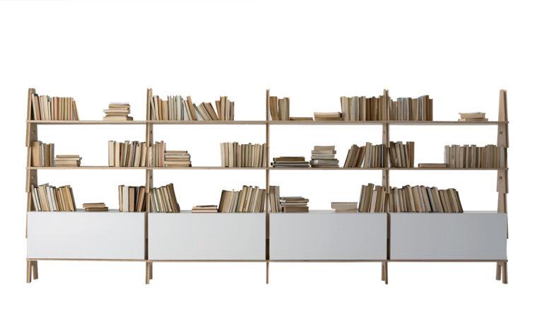 Icone del design: il sistema-libreria Cavalletto