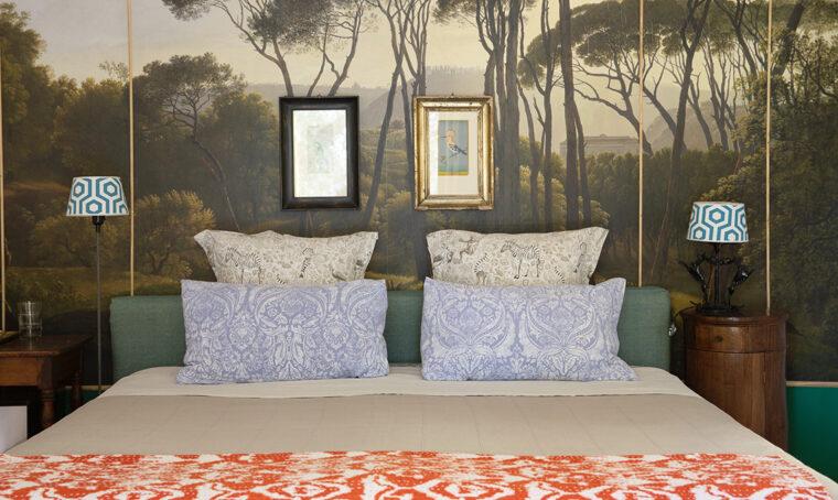 Tanto colore per uno stile eclettico in Puglia