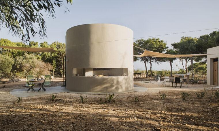 Un antico fortino trasformato in casa vacanze a Favignana