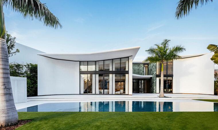 La villa di Miami Beach ispirata a Gio Ponti