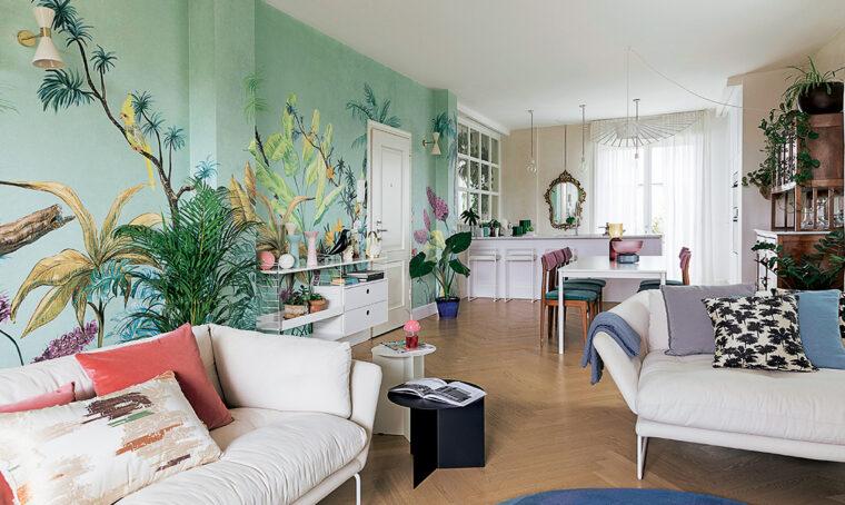 Prima e dopo: nuove idee green per l'attico alle porte di Milano