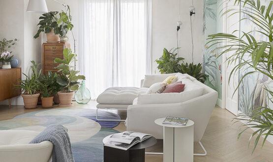 Scelte di stile e nuove idee green nell'attico alle porte di Milano