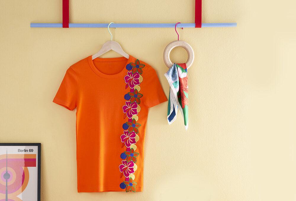 Come creare la t-shirt floreale