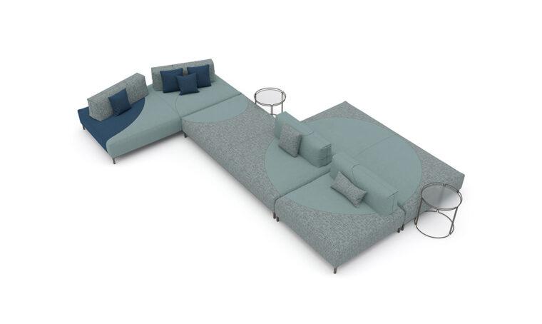 Sunders Universe: il divano che coniuga design ed ecosostenibilità