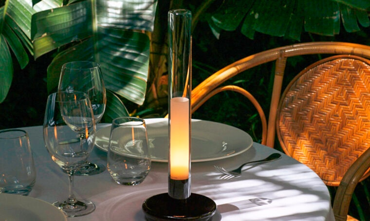 Punto luce: la lampada da tavolo Sylvestrina