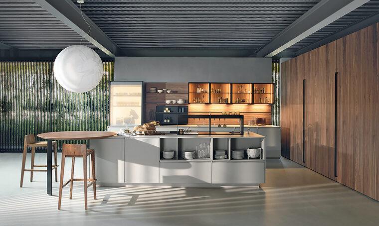 Cucina: sistemi a scomparsa per spazi trasformisti