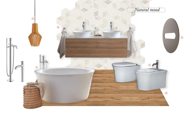 6 stili per un nuovo bagno