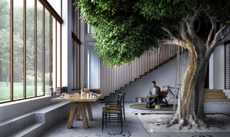 Greenary: la vita tutta intorno a un albero!