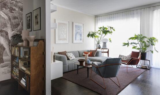 Un appartamento (con orto) in città