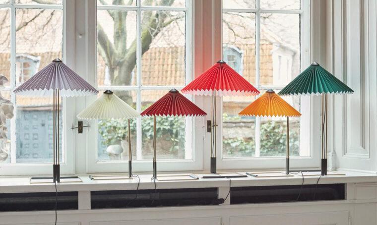 Matin è la lampada della designer francese Inga Sempé