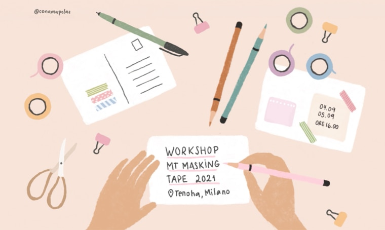 Workshop creativi per tutti gli amanti dei washi tape