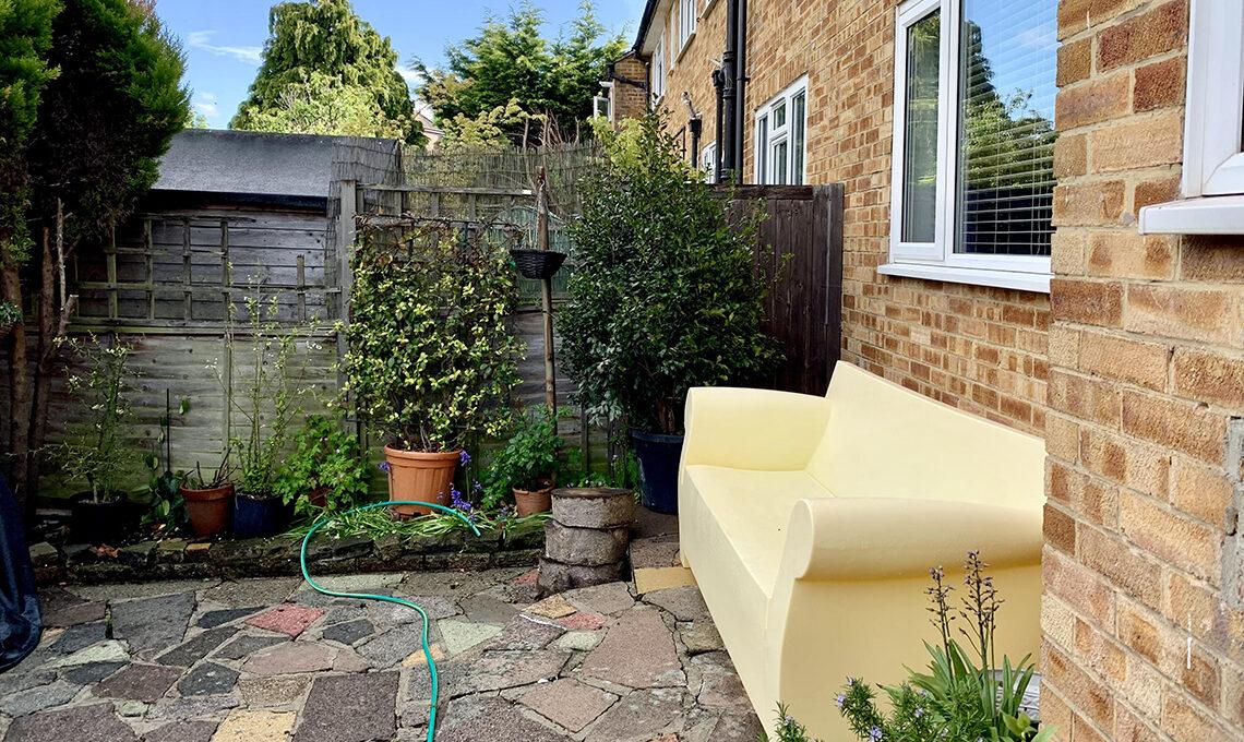 giardino casa londra