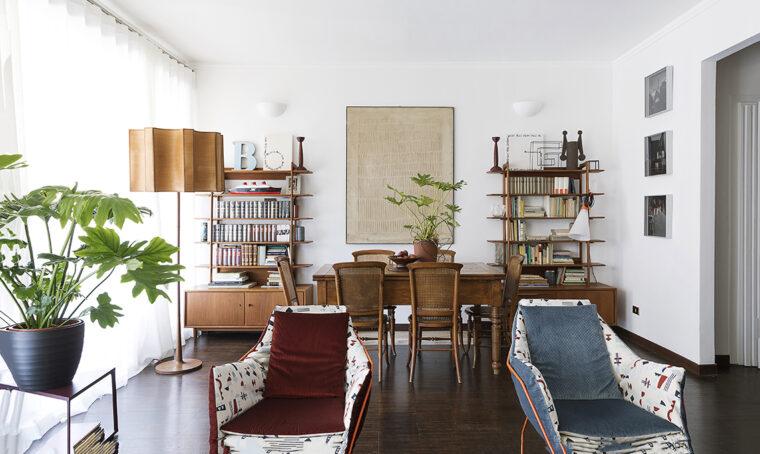 Prima & Dopo: l'appartamento (con orto) in città